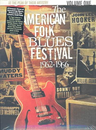AMERICAN FOLK BLUES FEST 62-66 VOL. 1 (DVD)